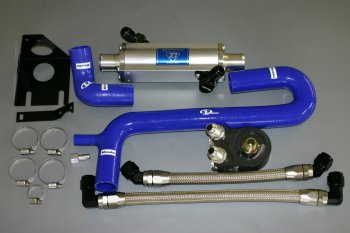 Maruha's water cooled oil cooler for Miata NA8 and NB8 - MX