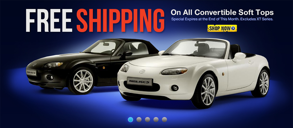 Go Miata All Soft Tops FREE SHIPPING EVENT !!! - MX-5 Miata